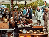 biggest flea and antiques market in southwest Germany