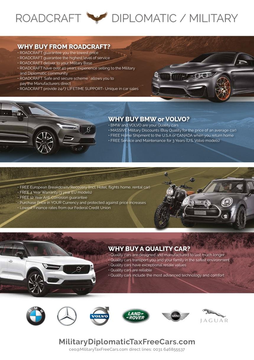 Roadcraft Bmw Volvo Nato Car Sales Inkwire Magazine