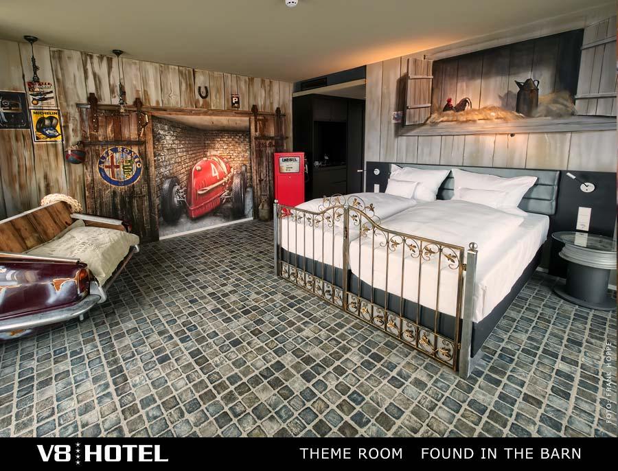 V8 HOTEL - MOTORWORLD Region Stuttgart