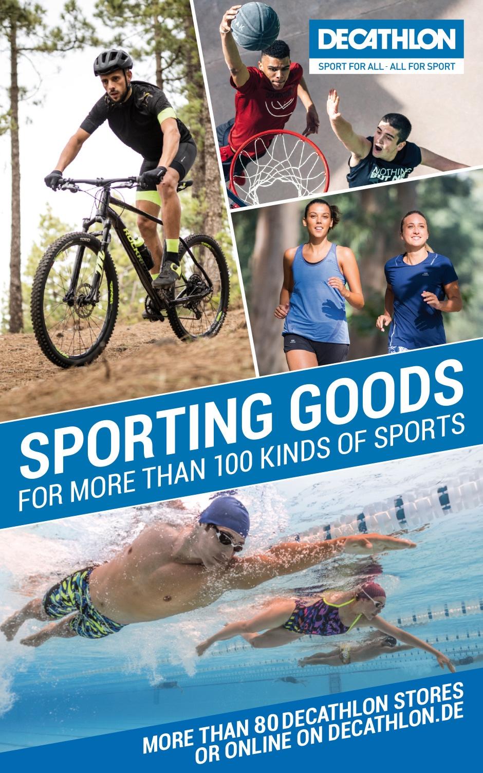 Decathlon Sporting goods
