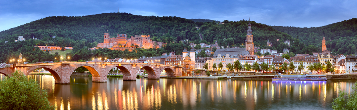 Heidelberg Old Bridge on the Neckar